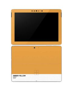 Amber Yellow Surface Go Skin