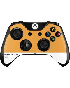 Amber Yellow Xbox One Controller Skin