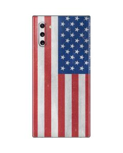 American Flag Distressed Galaxy Note 10 Skin