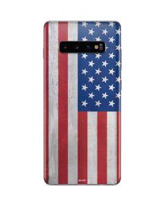 American Flag Distressed Galaxy S10 Plus Skin