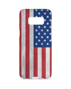 American Flag Distressed Galaxy S8 Plus Lite Case
