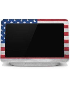 American Flag Distressed Google Home Hub Skin