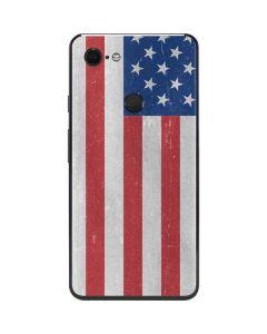 American Flag Distressed Google Pixel 3 XL Skin