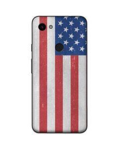 American Flag Distressed Google Pixel 3a Skin
