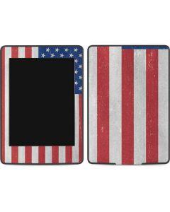 American Flag Distressed Amazon Kindle Skin