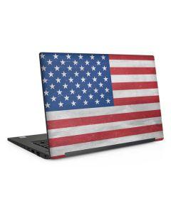 American Flag Distressed Dell Latitude Skin