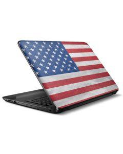 American Flag Distressed HP Notebook Skin