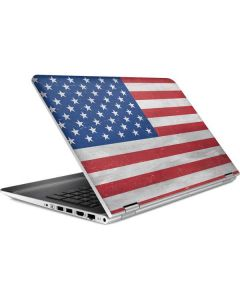American Flag Distressed HP Pavilion Skin