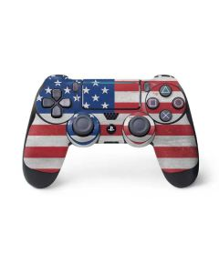 American Flag Distressed PS4 Pro/Slim Controller Skin