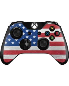 American Flag Distressed Xbox One Controller Skin