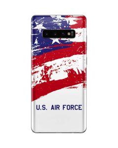 American Flag US Air Force Galaxy S10 Plus Skin