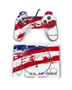 American Flag US Air Force PlayStation Classic Bundle Skin