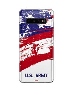 American Flag US Army Galaxy S10 Plus Skin