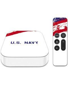 American Flag US Navy Apple TV Skin