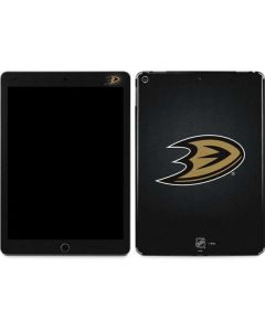Anaheim Ducks Black Background Apple iPad Air Skin