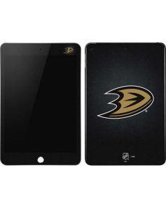 Anaheim Ducks Black Background Apple iPad Mini Skin