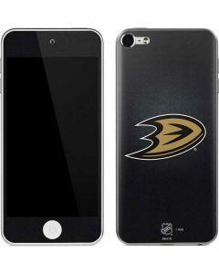 Anaheim Ducks Black Background Apple iPod Skin