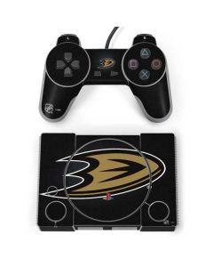 Anaheim Ducks Black Background PlayStation Classic Bundle Skin