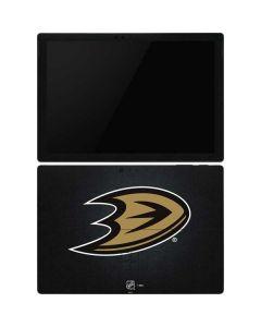 Anaheim Ducks Black Background Surface Pro 6 Skin