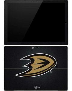 Anaheim Ducks Black Background Surface Pro (2017) Skin