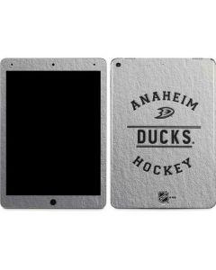 Anaheim Ducks Black Text Apple iPad Air Skin