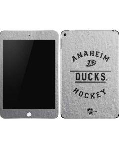 Anaheim Ducks Black Text Apple iPad Mini Skin