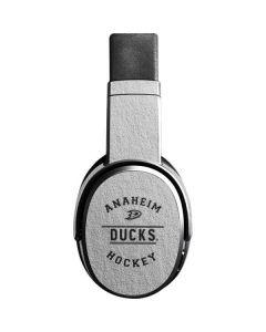 Anaheim Ducks Black Text Skullcandy Crusher Wireless Skin