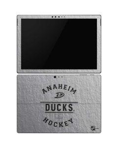 Anaheim Ducks Black Text Surface Pro 6 Skin