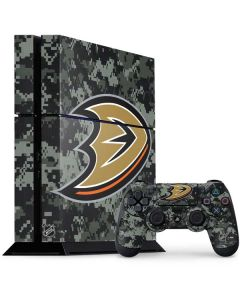 Anaheim Ducks Camo PS4 Console and Controller Bundle Skin