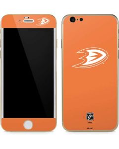 Anaheim Ducks Color Pop iPhone 6/6s Skin