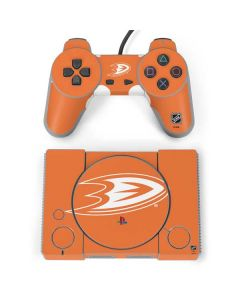 Anaheim Ducks Color Pop PlayStation Classic Bundle Skin