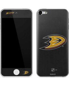 Anaheim Ducks Distressed Apple iPod Skin