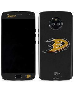 Anaheim Ducks Distressed Moto X4 Skin