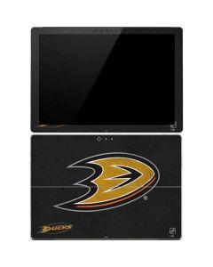 Anaheim Ducks Distressed Surface Pro 4 Skin