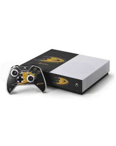 Anaheim Ducks Distressed Xbox One S All-Digital Edition Bundle Skin