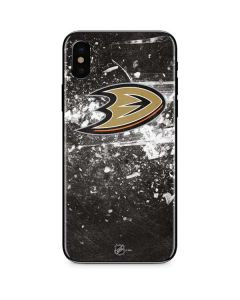 Anaheim Ducks Frozen iPhone X Skin