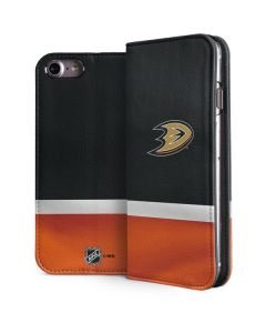 Anaheim Ducks Jersey iPhone 7 Folio Case