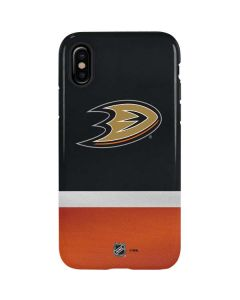 Anaheim Ducks Jersey iPhone X Pro Case