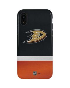 Anaheim Ducks Jersey iPhone XR Pro Case