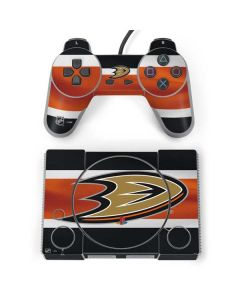 Anaheim Ducks Jersey PlayStation Classic Bundle Skin