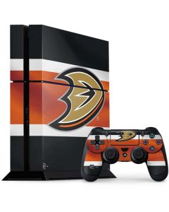 Anaheim Ducks Jersey PS4 Console and Controller Bundle Skin