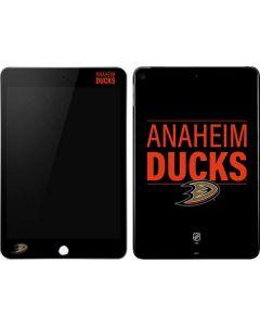 Anaheim Ducks Lineup Apple iPad Mini Skin