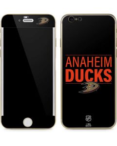 Anaheim Ducks Lineup iPhone 6/6s Skin