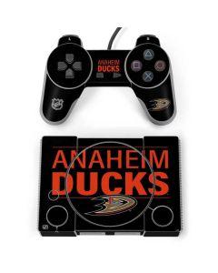 Anaheim Ducks Lineup PlayStation Classic Bundle Skin