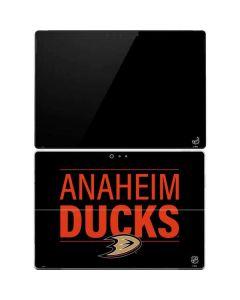 Anaheim Ducks Lineup Surface Pro 4 Skin