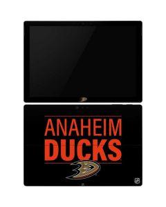 Anaheim Ducks Lineup Surface Pro 6 Skin