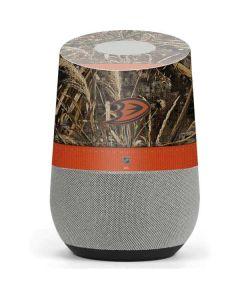 Anaheim Ducks Realtree Max-5 Camo Google Home Skin