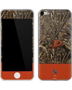 Anaheim Ducks Realtree Max-5 Camo Apple iPod Skin