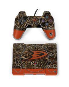 Anaheim Ducks Realtree Max-5 Camo PlayStation Classic Bundle Skin