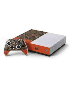 Anaheim Ducks Realtree Max-5 Camo Xbox One S All-Digital Edition Bundle Skin
